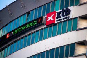 Bureaux du courtier XTB à Varsovie, en Pologne
