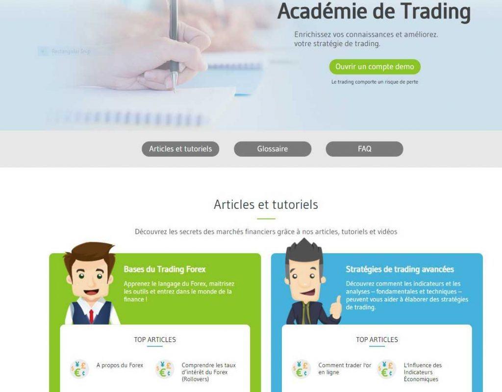 Retour sur les bancs de l'école avec l'Académie de trading d'Alvexo