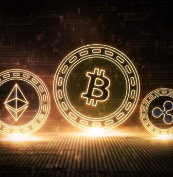 Podium des crypto-monnaies : Bitcoin, Ethereum et Ripple
