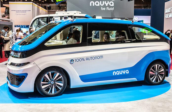 Navya est devenu l'un des leaders français des systèmes de conduite autonome
